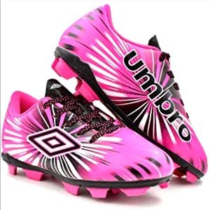 🎉HP🎉Umbro Girls Pink Soccer Cleats
